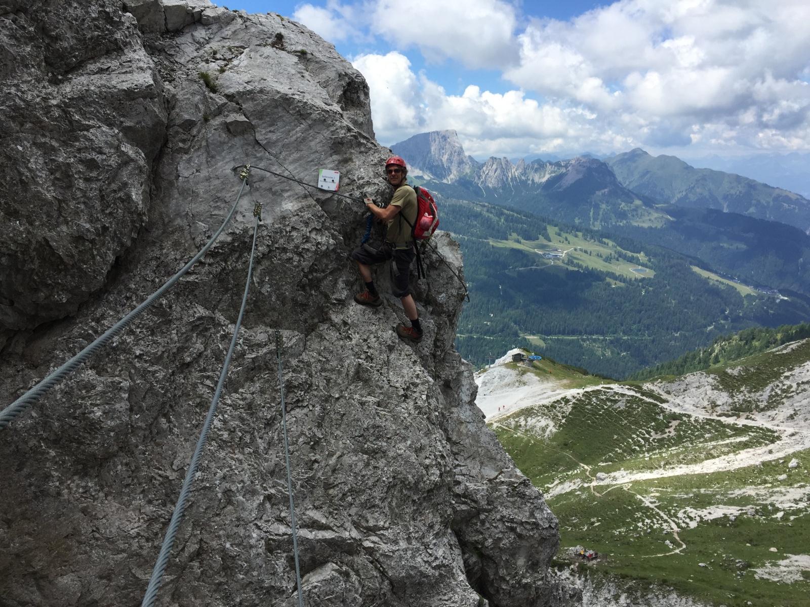 Klettersteig Däumling : Der däumling klettersteig am nassfeldpaß abenteuer blog